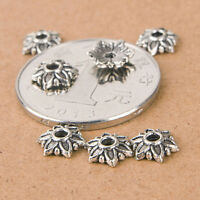 Lot 100pcs Tibetan Silver Daisy Flower Spacer Metal Beads 8mm Jewelry Making.