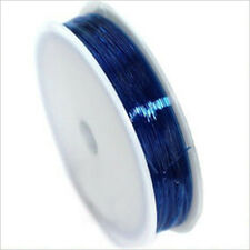 Wire Nylon Elastic 0,8mm – 20m Blue for jewelery creation