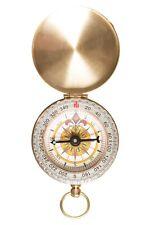 Mountain Warehouse Brass Compass Practical & Compact Accessory 50 mm Diameter