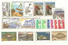 Year 1993 except # 586 and 86 stamps saint pierre and miquelon
