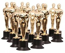 Gold Award Trophy Oscar Star Statue Prize 6 Inch Trophies Pack of 6