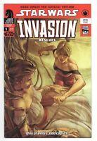 Star Wars Invasion - Rescues (2010) #1 Variant - 1000 Made - Dark Horse 100
