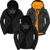 Superdry Mens Windcheater Jacket Arctic Elite Fleece Lined Coat Hoody Full Zip