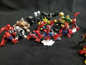 30 Hasbro Playskool Imaginext Super Hero Squad Marvel Adventures Figure Lot