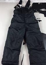 New Vertical'9 Unisex Child Black Winter Snow Suit One Piece Jumper Size 4
