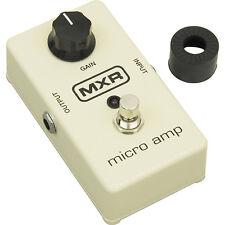 Jim Dunlop MXR M133 Micro Amplificador Guitarra Efectos Pedal