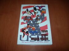 1999 USBL UNITED STATES BASKETBALL LEAGUE MEDIA GUIDE