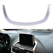 Interior Center Control Decoration Strip Cover Trim For Mazda 3 Axela 2014-2017