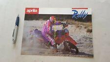 Aprilia Tuareg Rally 125 Enduro 1989 depliant originale brochure moto