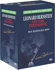 Leonard Bernstein Young People' Concert (Box Set=25Disc) (DVD,All,Sealed,New)