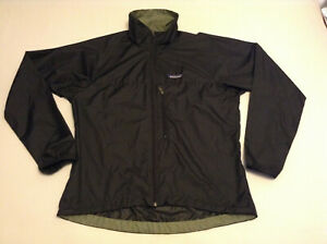PATAGONIA Light-weight Windbreaker Black size Small