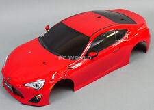 Tamiya 1/10 Subaru Brz Scion Toyota Frs 86 Carrosserie Fini Rouge Neuf
