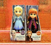 Disney Princess Mini Toddler Dolls Frozen 2 ANNA & ELSA Adventure Set Lot of 2