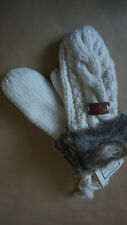 LADIES 'WINTER MITTENS' ARAN TRADITIONS - ONE SIZE NEW