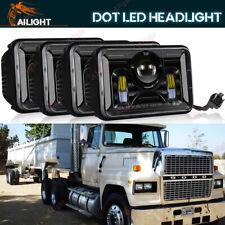 "Upgrade 4x6"" LED Sealed Beam Headlight For 82-97 Ford LTL 9000 GMC Volvo Chevy"