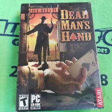 Dead Man's Hand (PC, 2004) - PC GAME - RETAIL BOX - 98/ME/2000/WIN XP VERSION