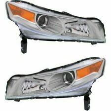 FITS 09-11 ACURA TL HEADLAMP LIGHT W/HID TYPE LEFT & RIGHT (no bulb nor ballast)