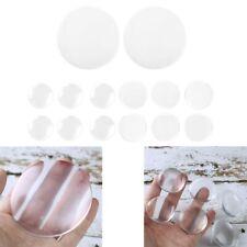 6Pcs Rubber Wall Protector Adhesive Rubber Stop Door Handle Bumper Guard Stopper
