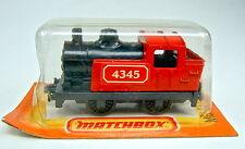 Matchbox SF Nr. 43C Steam Locomotive rot & schwarz top in französischer Box