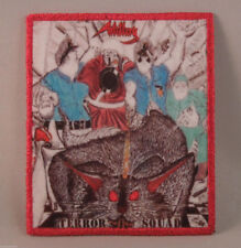 ARTILLERY Terror Squad (RED Border Printed Small Patch) (NEW)