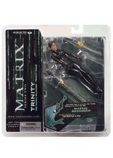 """The Matrix Reloaded Trinity Falls 6"""" Series Two McFarlane 2003 Loose COMPLETE"""