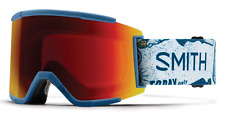 NEW Smith Squad XL Goggles-Kindred-Red Sun Chromapop-SAME DAY SHIPPING!