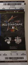 2017 MLB ALL STAR GAME TICKET STUB 7/11 MIAMI AARON JUDGE CODY BELLINGER