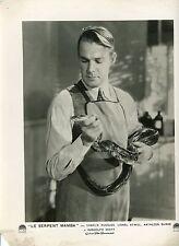 RANDOLPH SCOTT MURDERS IN THE ZOO  1933 VINTAGE PHOTO ORIGINAL
