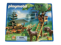 Playmobil 4208 Brand New Sealed! Rare! Hunting Three Blind Outdoor Set