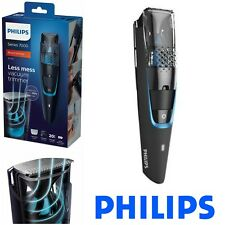 PHILIPS MEN VACUUM TRIMMER CORDLESS BEARD GROOMING HAIR CUTTER SHAVER CUTTING