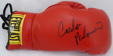 Carlos Palomino Autographed Signed Red Everlast Boxing Glove Beckett BAS #F87971