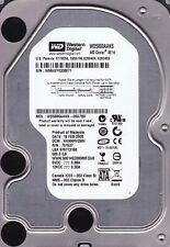 Western Digital WD5000AAKS-00A7B0 dcm: HANNHV2MH s/n: WMAS... 500GB SATA 710
