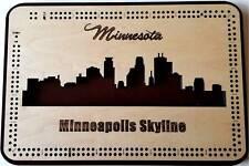 Minnesota, Minneapolis Skyline Cribbage Board