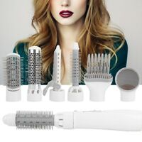 7-1 Hair Blow Dryer Style Iron Curling Hot Air Curler Heat Brush Salon Ionic Kit