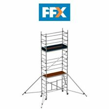 ZARGES Reachmaster Mobile Folding Scaffold Tower 5.7m Working Height