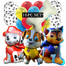 16PC PAW PATROL Balloons Latex Foil Party Supply Decoration BIrthday skye bone