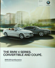 2015 MY BMW 4 Coupe Convertible / Cabrio catalogue brochure English Int'l