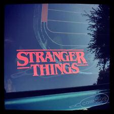 Stranger Things STICKER VINYL DECAL NETFLIX HOPPER WILL DEMOGORGON ELEVEN
