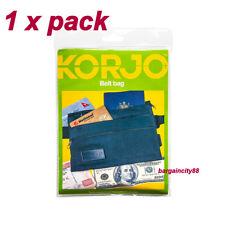KORJO Security 4in1 Belt Bag Waist Bum Money Pouch Travel Passport Wallet Clutch