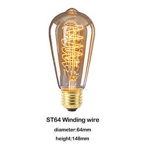 Ampoules à filament LED 40W intensité variable vintage haute qualité pour maison