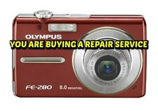 OLYMPUS Fe-280 CAMERA REPAIR SERVICE-60 DAY WARRANTY-FREE RETURN SHIPPING