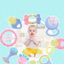 10tlg/Set Baby Spielzeug Motorik Rasseln Greiflinge Rassel Babyrassel Jingle