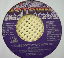 Rockwell 45 record Somebody's Watching Me vintage 1983