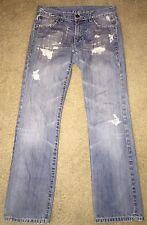 Monarchy Men's Jeans Distressed 30 X 32