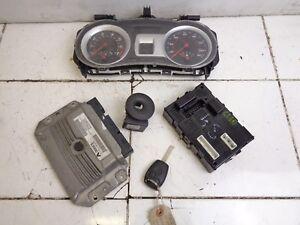 2005 2009 RENAULT CLIO 1.4 16V 5DR  ECU BSI IGNITION KEY SET KIT 8200461733