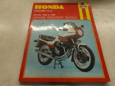 Honda CBX550 four 1982-1986 model
