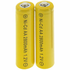 2X AA Rechargeable Battery 2800mAh 1.2v NiCd Nickel Metal Hydride Solar Light