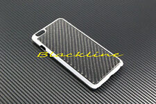 "For Apple iPhone 6 (5.5"") Plus Carbon Fiber Chrome Body Hard Case Cover Skin"