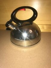 Copco Stainless Steel Whistling Tea Pot Kettle Silver