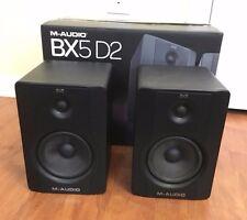 M-Audio BX5 D2 70-Watt Bi-Amplified Studio Monitor Speakers (Pair)
